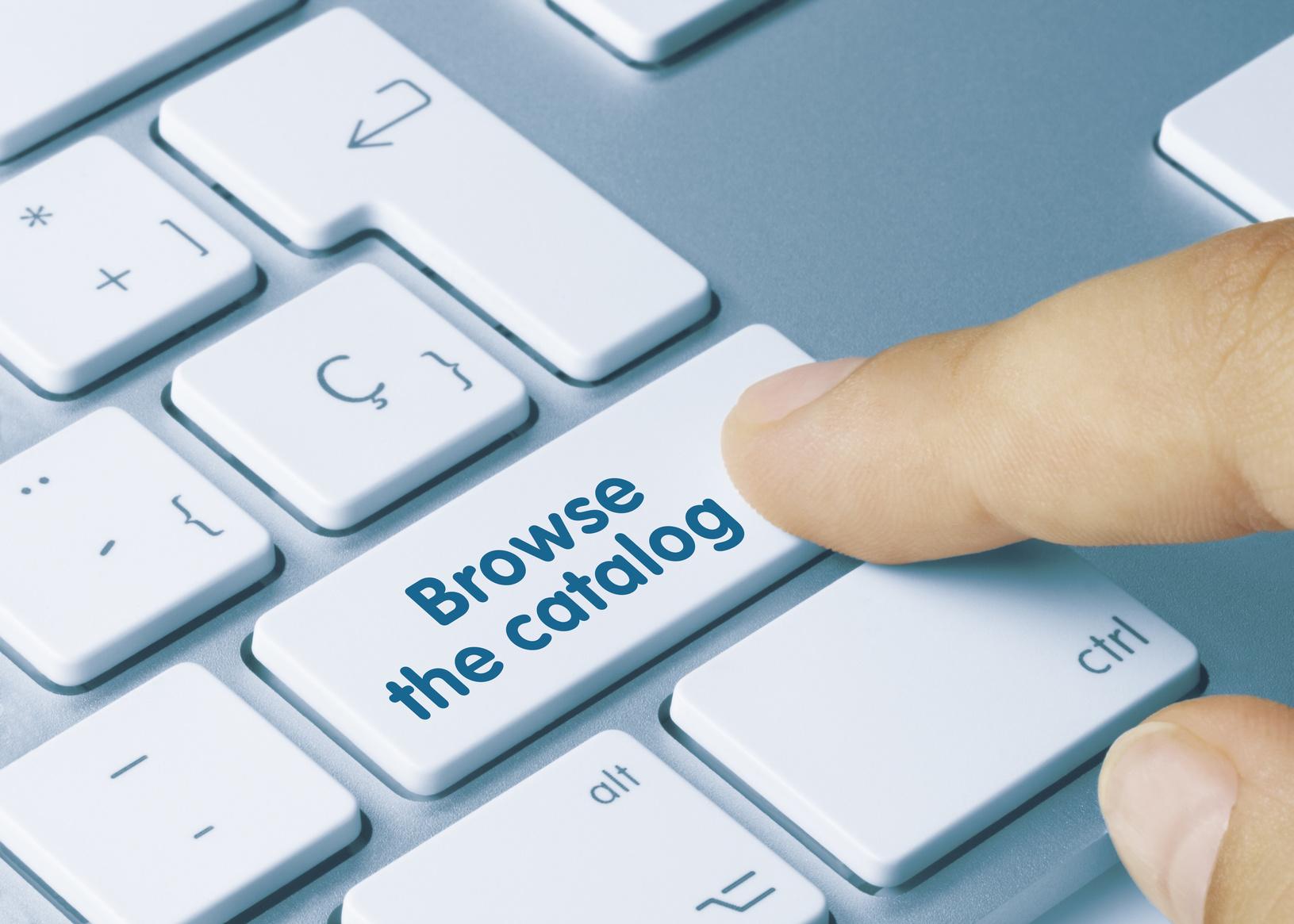 Creating a digital catalog